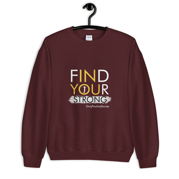 Find Your Strong Women's Golf Unisex Sweatshirt