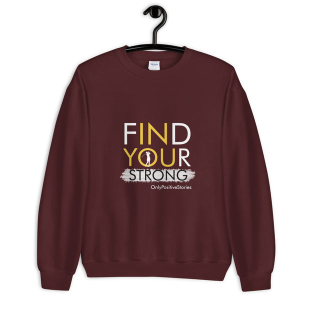 Find Your Strong Men's Golf Unisex Sweatshirt