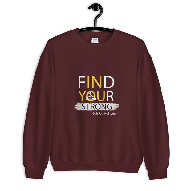 Find Your Strong Pilates Unisex Sweatshirt