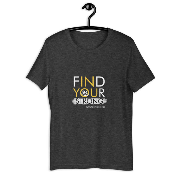 Find Your Strong Swimming Short-Sleeve Unisex T-Shirt