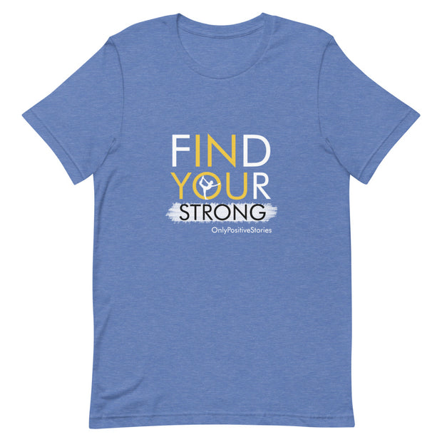 Find Your Strong Girls Gymnastics Short-Sleeve T-Shirt