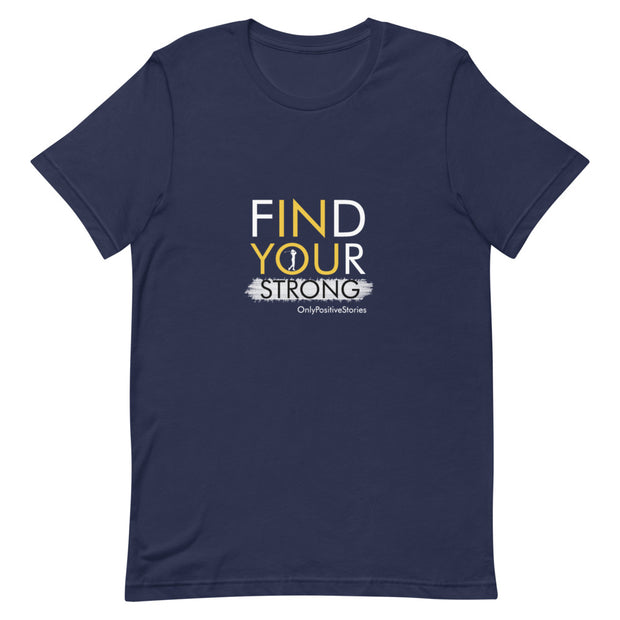 Find Your Strong Women's Golf Unisex Short-Sleeve T-Shirt