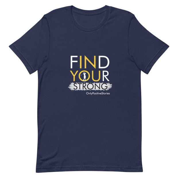 Find Your Strong Men's Golf Unisex Short-Sleeve T-Shirt
