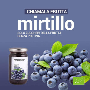 Composta di mirtilli 220g - AmoreTerra shop