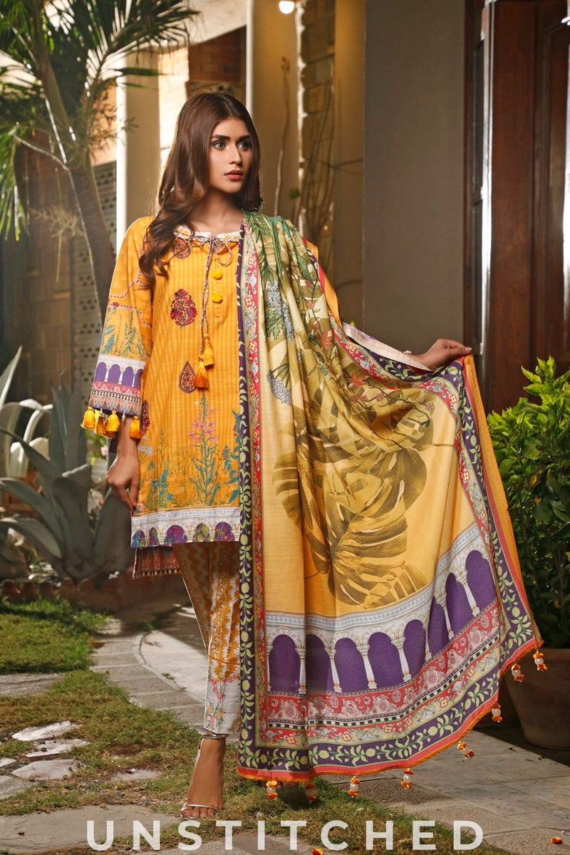 KHADDAR 3PCS UNSTITCHED (NEP-19909)