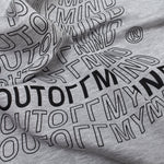 FLAG TEE GREY - outoffmymind