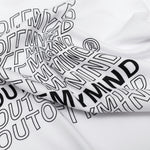 FLAG TEE WHITE - outoffmymind