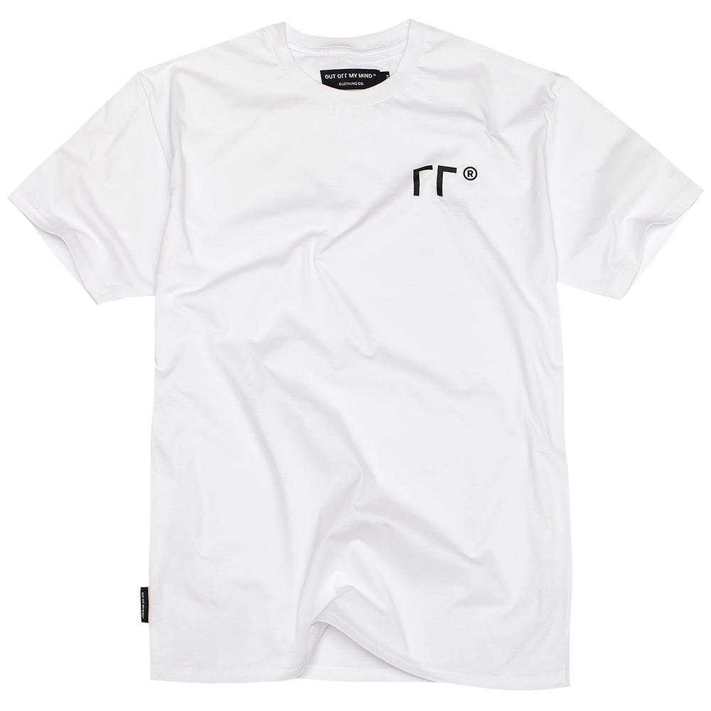 LOGO T-SHIRT WHITE - outoffmymind