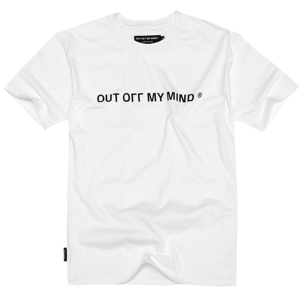 OOMM T-SHIRT WHITE - outoffmymind