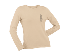 Load image into Gallery viewer, Salty Sandy & Stoked Long Sleeve - Sand