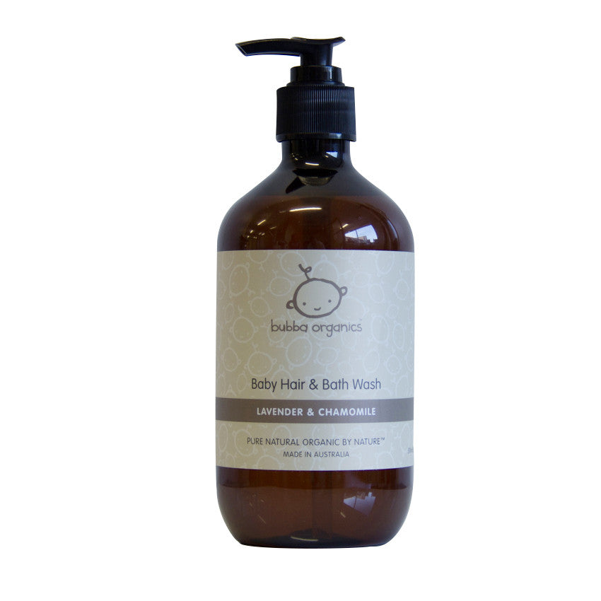 Bubba Organics Baby Hair and Bath Wash