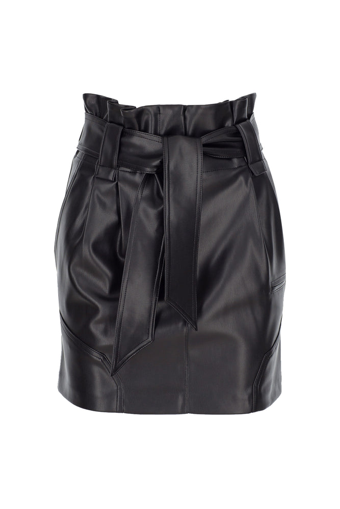 Load image into Gallery viewer, Alivia Leather Skirt