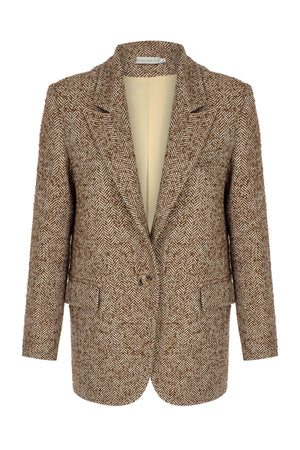 Load image into Gallery viewer, Olivia Camel Jacket