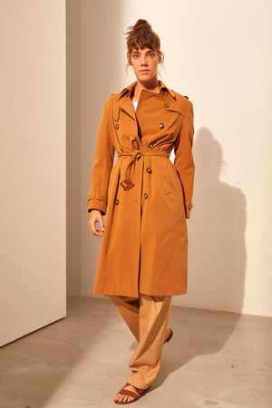 Load image into Gallery viewer, Cotton Trenchcoat