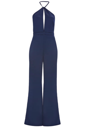 Load image into Gallery viewer, Halter Neck Jumpsuit