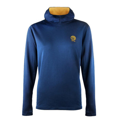 YMR Track Club Åsunden Ladies Hoodie Navy Mustard-Runster