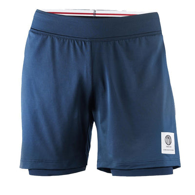 YMR Track Club Åsunden Men's Shorts Navy-Runster