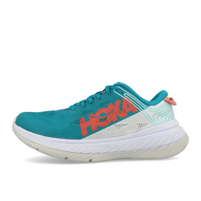 Hoka One One W Carbon X Caribbean Sea White-Runster