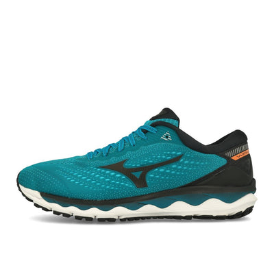 Mizuno Wave Sky 3 Enamel Blue Black Melon-Runster