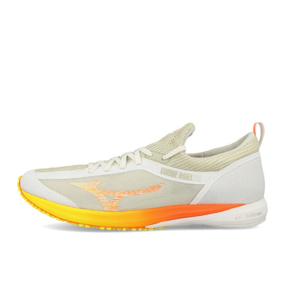 Mizuno Wave Duel 2 Nimbus Cloud White Shocking Orange-Runster