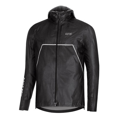 Gore Wear R7 Gore-Tex Shakedry Trail Hooded Jacket Black-Runster