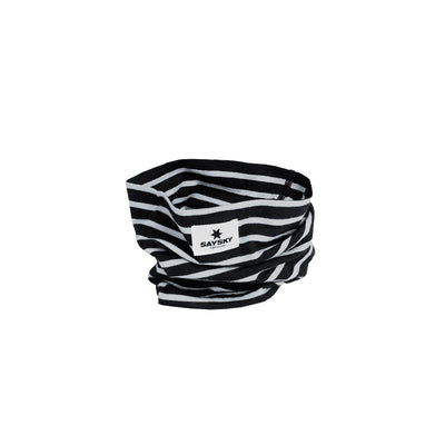 Saysky Merino Base 165 Scarf Black White-Runster