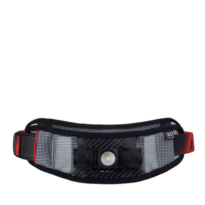 UltrAspire Lumen 600 3.0 Waist Light Hüfttasche Black Red-Runster