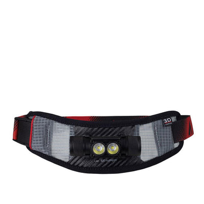 UltrAspire Lumen 800 Multi Sport Waist Light Hüfttasche Black Red-Runster