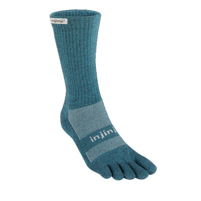 Injinji Trail Midweight Crew Socks Space-Runster