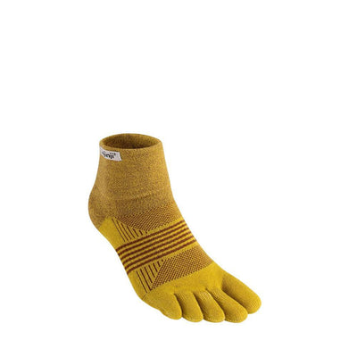 Injinji Womens Trail Midweight Mini Crew Socks Biscuit-Runster