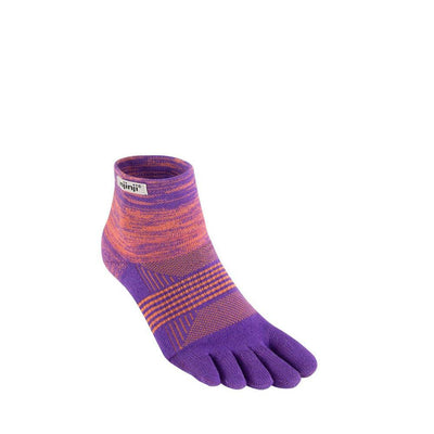 Injinji Womens Trail Midweight Mini Crew Socks Jupiter-Runster