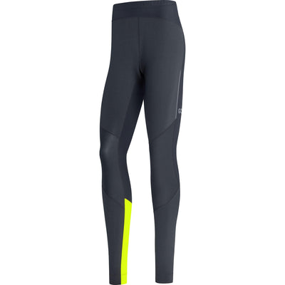 Gore Wear R5 GTX Infinium Tights Black Neon Yellow-Runster