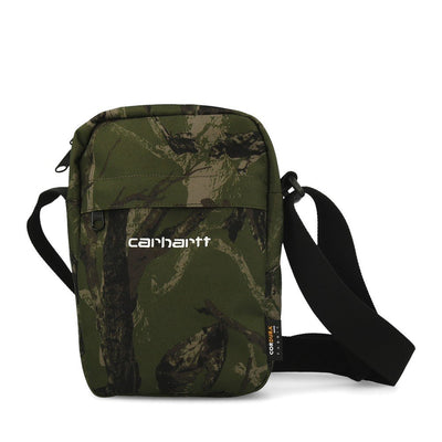 Carhartt WIP Payton Shoulder Pouch Green White-Runster