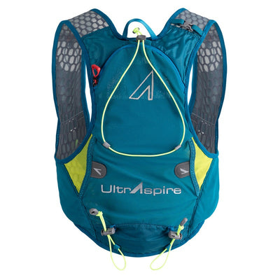 UltrAspire Alpha 4.0 Race Vest Emerald Blue Lime-Runster