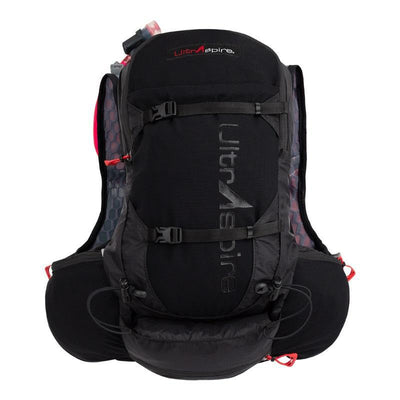 UltrAspire Zygos 4.0 Hydration Pack Rucksack Black-Runster