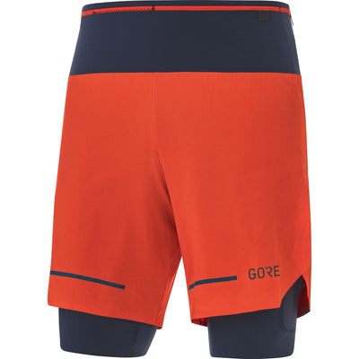 Gore Wear Ultimate 2 in 1 Shorts Fireball Orbit-Runster