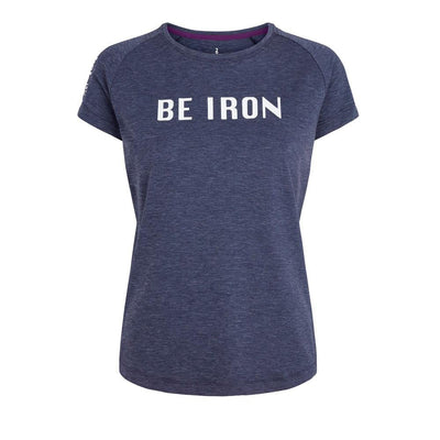 Fe226 Be Iron DryRun Womens T-Shirt Prep Tempest Blue-Runster
