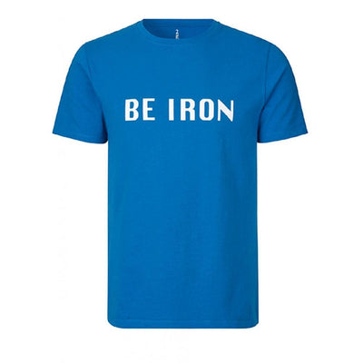 Fe226 Be Iron T-Shirt Herren Classic Blue-Runster