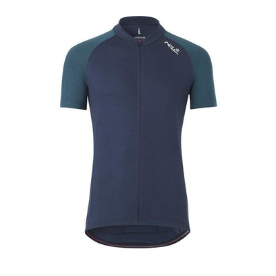 Fe226 DryRide Bike Jersey Herren Short Sleeves Tempest Blue-Runster