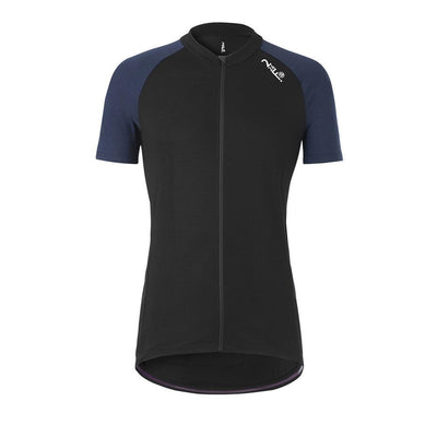 Fe226 DryRide Bike Jersey Herren Short Sleeves Black-Runster