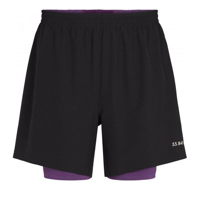 Fe226 LightRun 2 in 1 Short Herren Black-Runster
