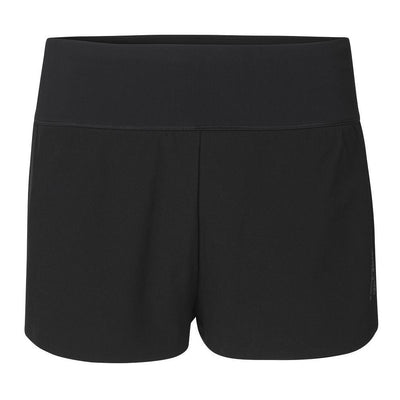 Fe226 Women's 2 in 1 DryRun Short Black-Runster