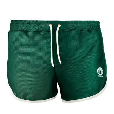 YMR Track Club Söder Mälarstrand Shorts Green-Runster