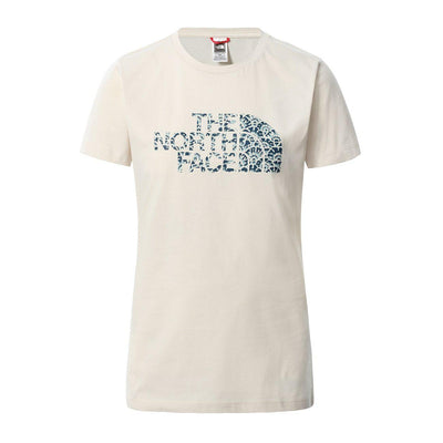 The North Face W S/S Easy T-Shirt Damen Vintage White Monterey Blue Ashbury Floral Print-Runster