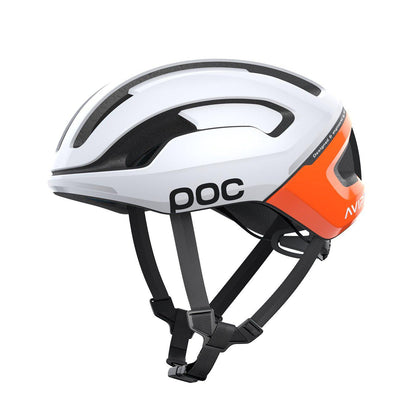 POC Omne Air SPIN Rennradhelm Zink Orange AVIP-Runster