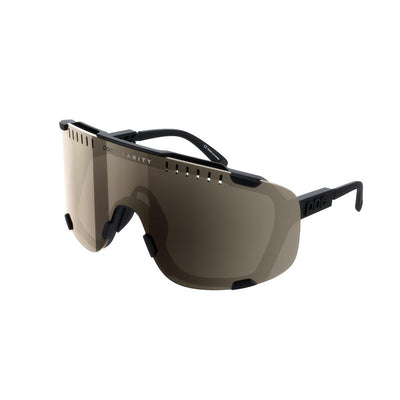 POC Devour Sportbrille Uranium Black Brown Silver Mirror-Runster