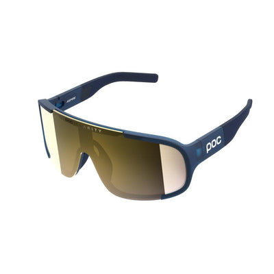 POC Aspire Sportbrille Lead Blue Violet Gold Mirror-Runster