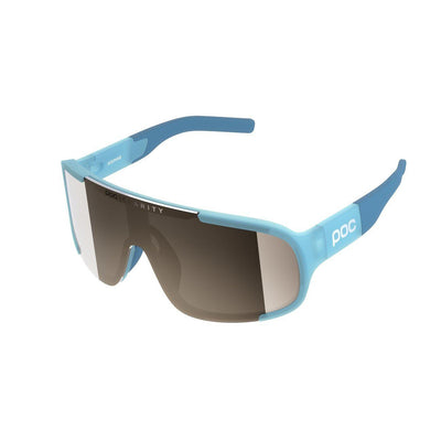 POC Aspire Sportbrille Basalt Blue Brown Silver Mirror-Runster