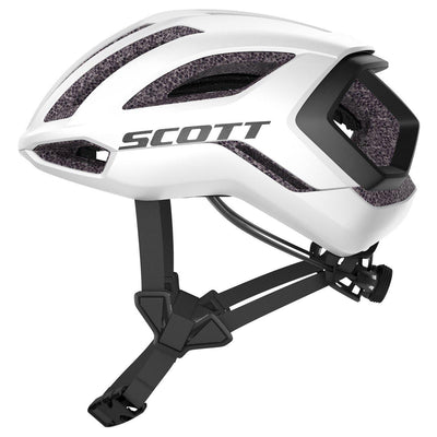 Scott Centric Plus Helmet White Black-Runster