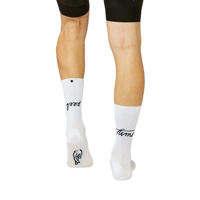 Fingerscrossed Road Socks Good Times White-Runster